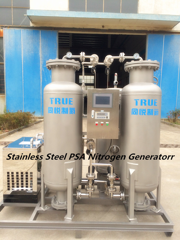 Bright 99.999% Air Separation Unit Stainless Steel Body 1 Kw 1000Nm3 / H