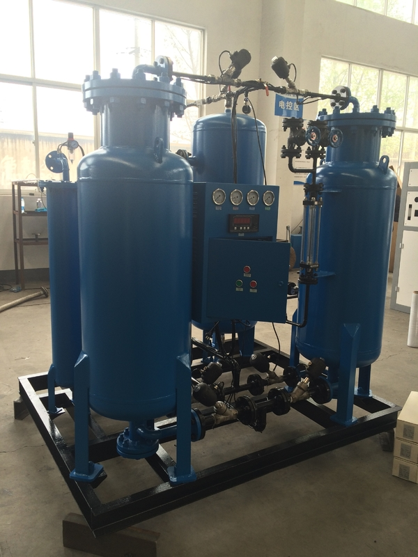 0.4 Mpa Outlet Pressure High Purity Psa Oxygen Plant , Industrial Oxygen Concentrator