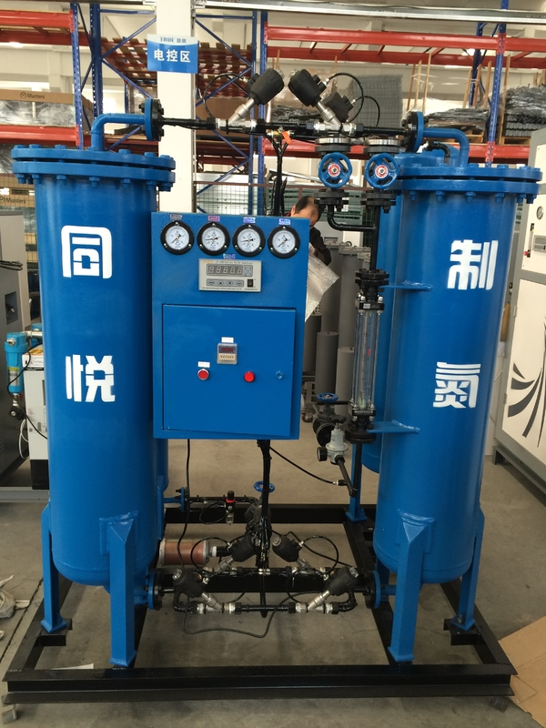 High Purity 99.99% Nitrogen Generator Psa Nitrogen Gas Plant 0.1kw Electrical Power